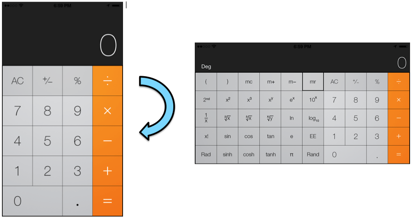 Quick Tip Access Extra Buttons In Calculator App On Iphone And