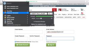 Generate Password (Mac)