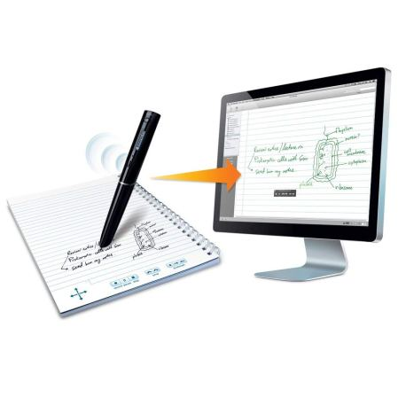 LiveScribe pen will transcribe all of your handwritten notes to your computer as typed text