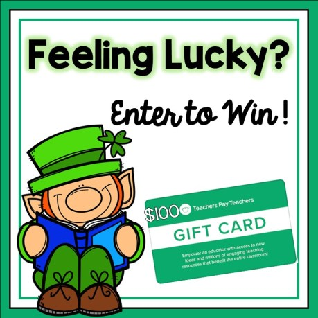 $100 gift card giveaway to Teachers Pay Teachers.
