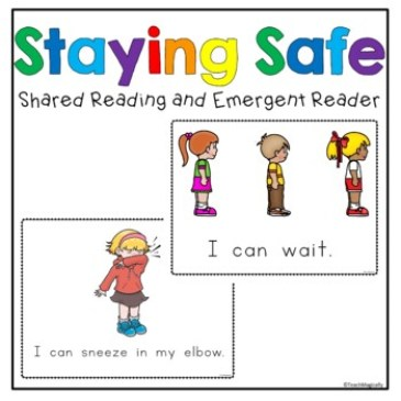 Image for an emergent reader on staying safe and healthy