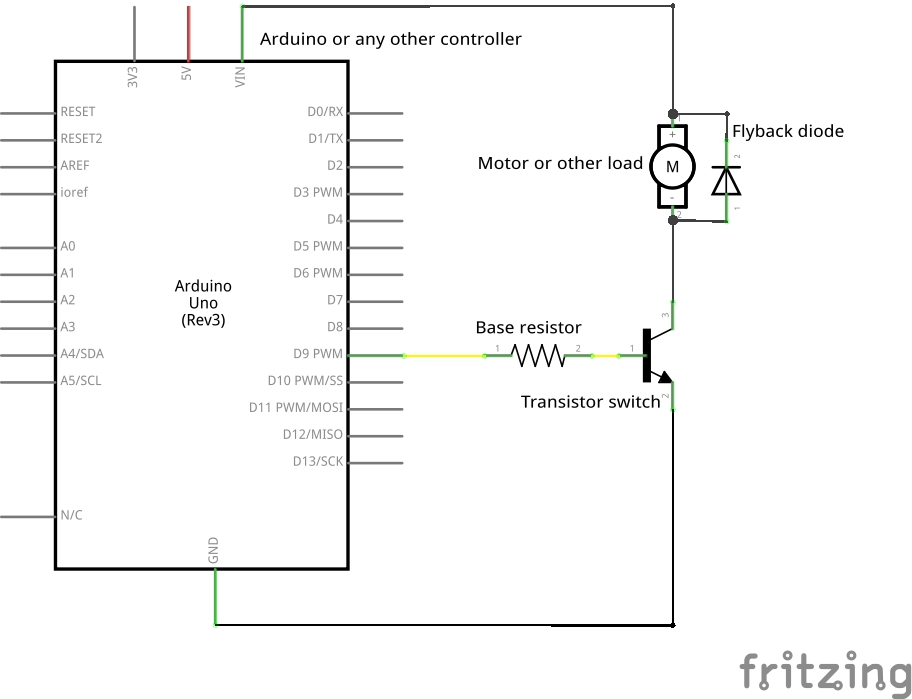 5 watt led driver circuit diagram 11 pin relay wiring how to use a transistor as switch | teach me make