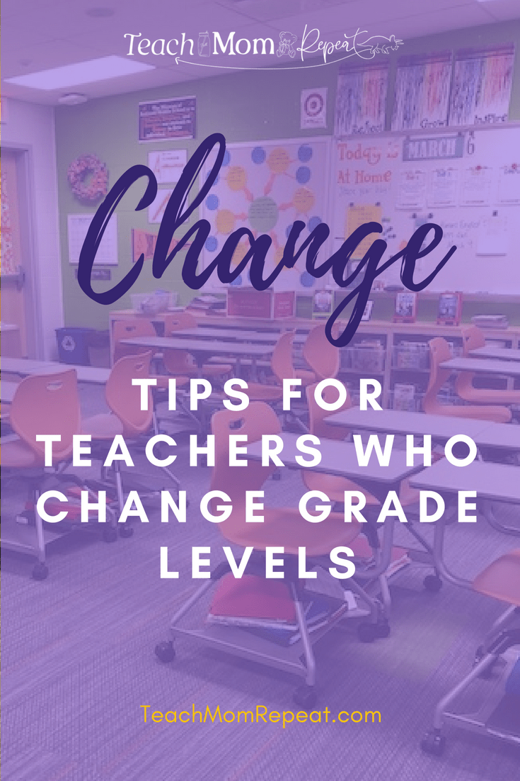 Change can be difficult. Use these tips for changing grade levels.