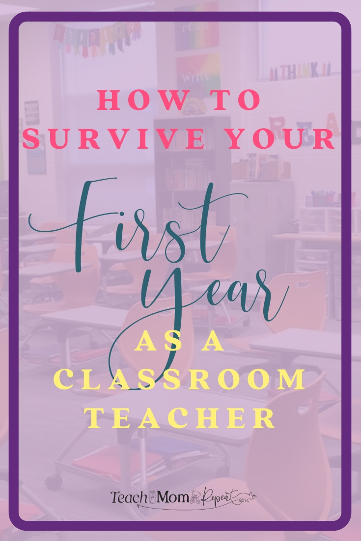 The first year of teaching can leave you grasping at straws to survive. It doesn't have to feel so overwhelming that first year in a classroom. Learn from veteran teachers how to survive your first year as a classroom teacher.
