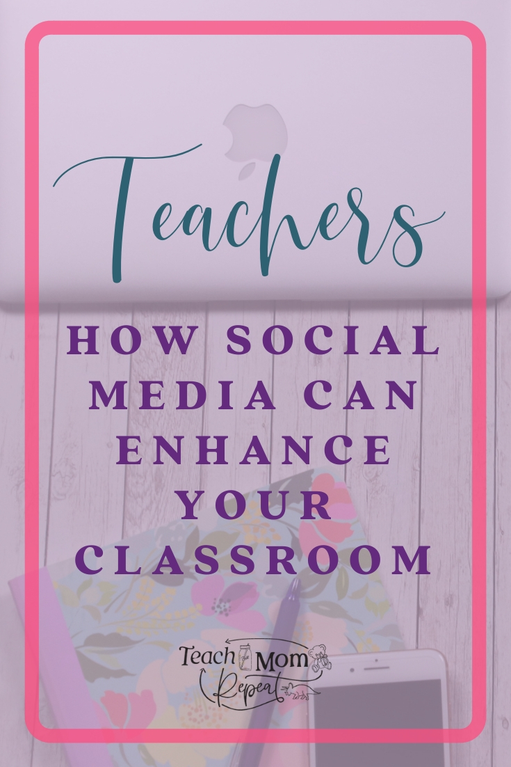 There is a large network of teachers using social media to share ideas for the classroom. This is a great way to tap into professional development that you can truly use.