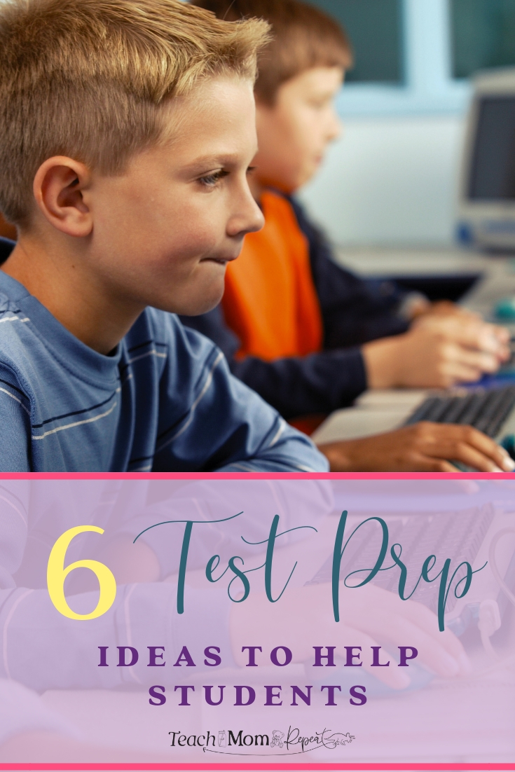 Standardized testing season can be stressful for students and teachers. Use these 6 ideas to help ease that test prep stress in every classroom.