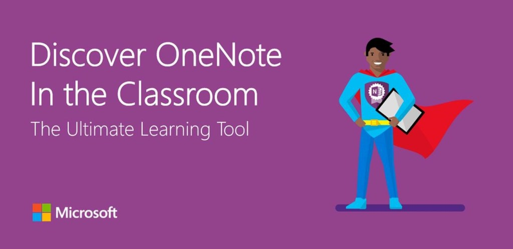 OneNote in the Classroom banner