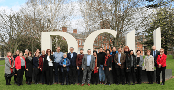 ATS STEM Project partners at the kick-off meeting in DCU this week