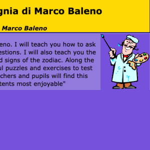 A Year With Marco Baleno