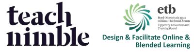 Tipperary ETB Design & Facilitate Online & Blended Learning course banner