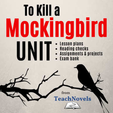 To Kill a Mockingbird Unit and Teacher Guide COVER