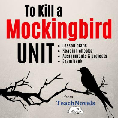 To Kill a Mockingbird Unit and Teacher Guide COVER
