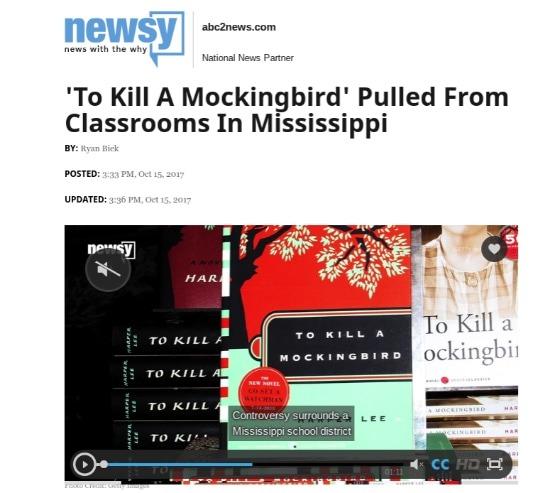 Exploring the controversy of To Kill a Mockingbird