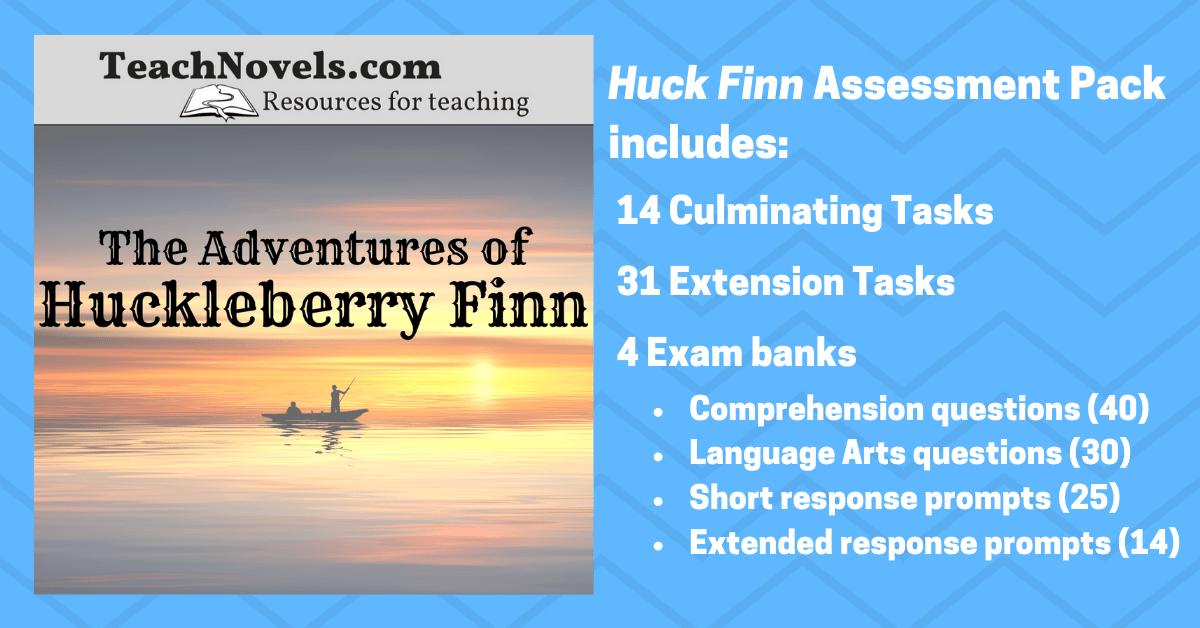 the adventures of huckleberry finn setting