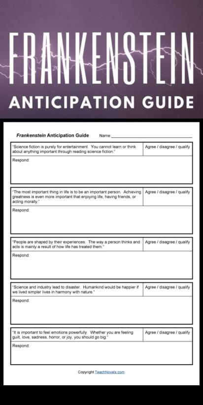 Frankenstein anticipation guide pin - Edited
