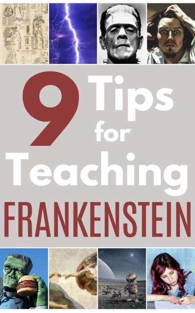 9 Tips for Teaching Frankenstein pin - Edited (2)