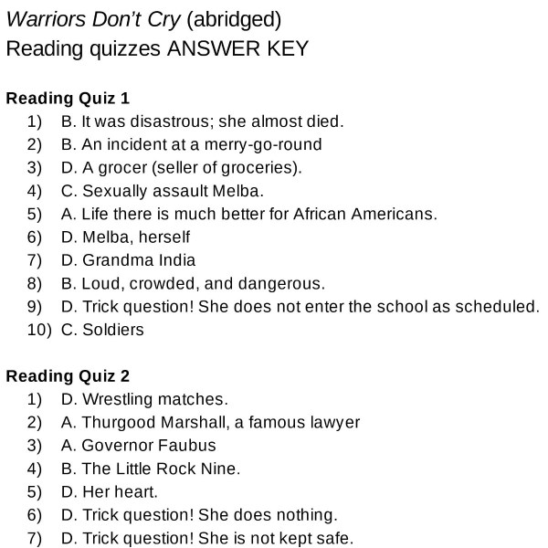 Warriors Don't Cry Quizzes THUMB 3 - Edited