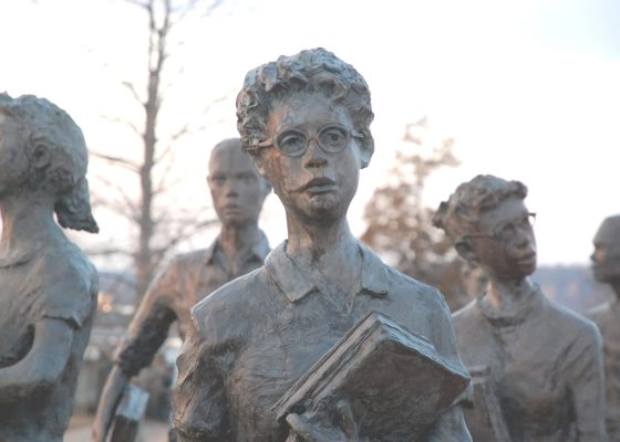 Little Rock Nine Statue