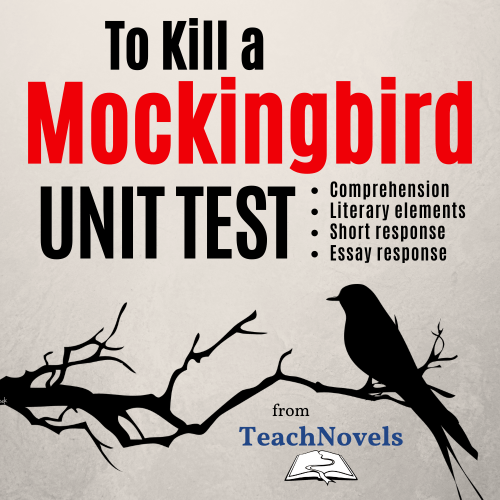 To Kill a Mockingbird Unit Exam PDF cover