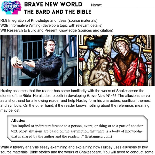 Brave New World-Projects Assessment THUMB 4- Edited