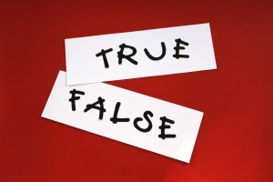 True or False – Teach One Reach One