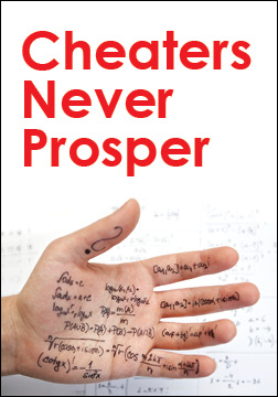 Cover of Cheaters Never Prosper booklet