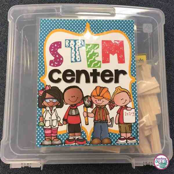 Setting Classroom Stem Center - Teach Box
