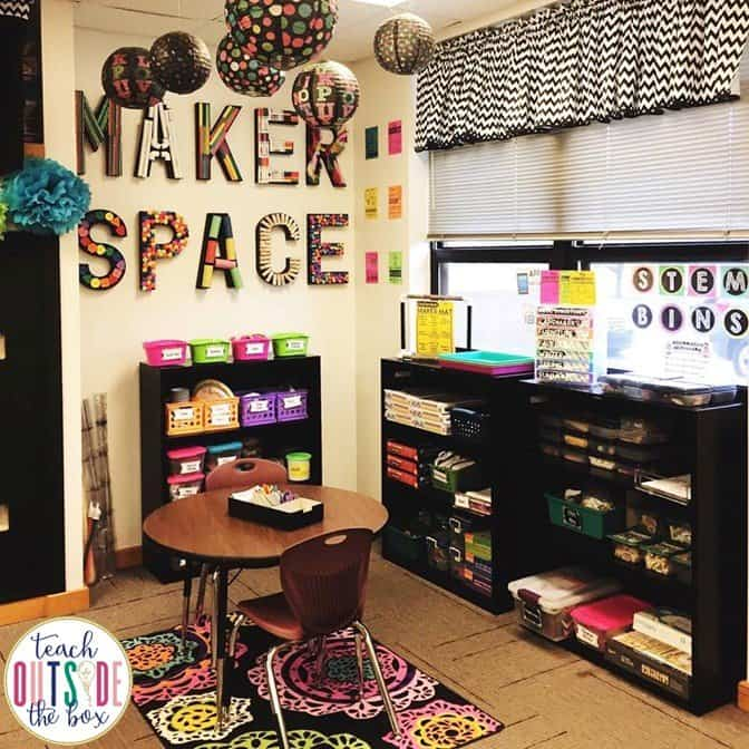 Welcome to my Makerspace  Teach Outside the Box
