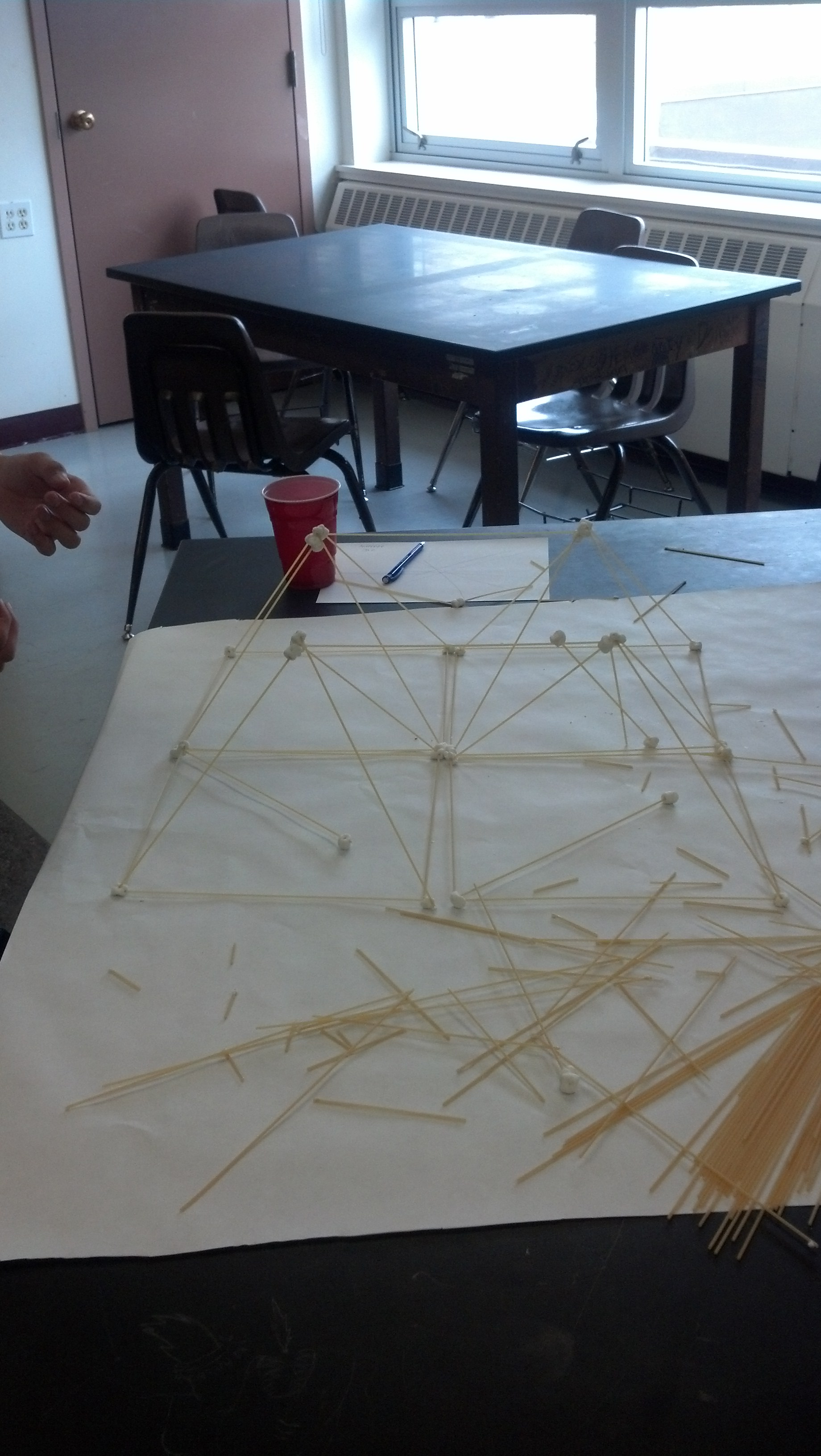 Get Inspired For Spaghetti And Mini Marshmallow Tower