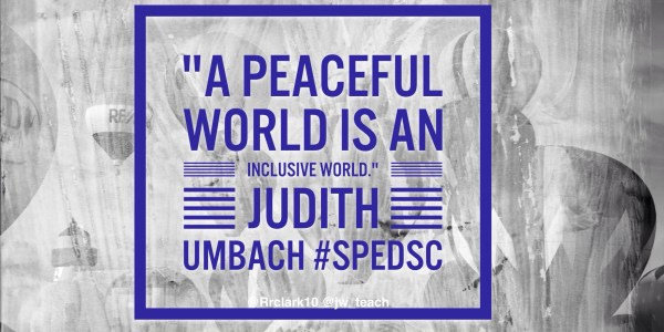Quotes Inclusion #spedsc Special Teaching And