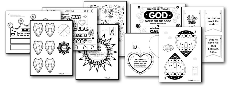 Scripture Crafts for Kids — Teach Sunday School