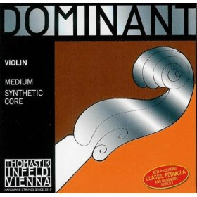 dominant synthetic core violin strings