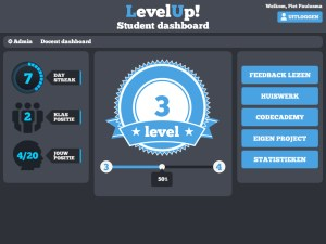 LevelUpStudentDashboard