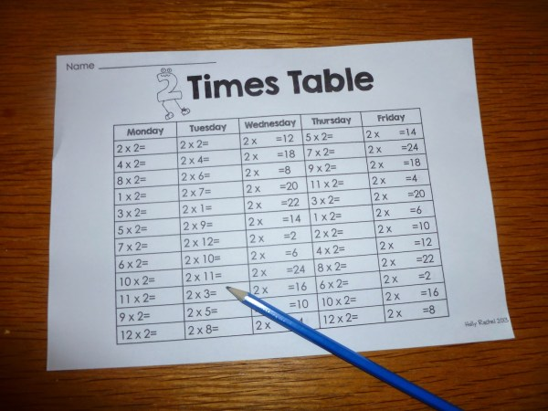 Classroom-morning-work-multiplication
