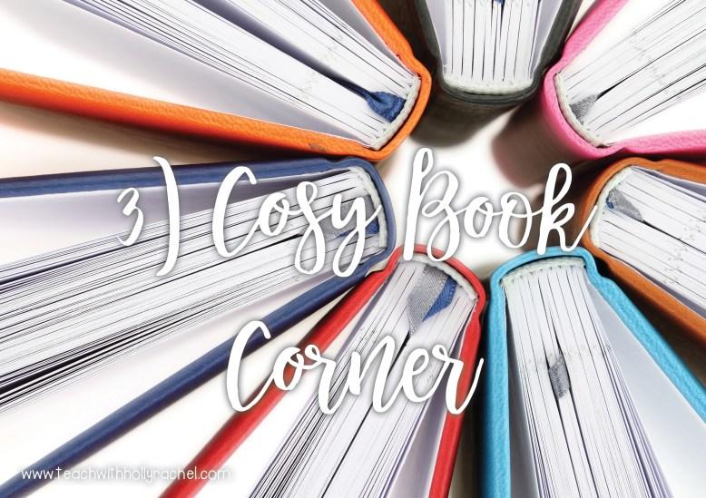 hygge classroom book corner