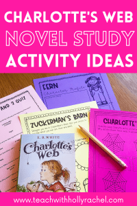charlottes web printables and worksheets