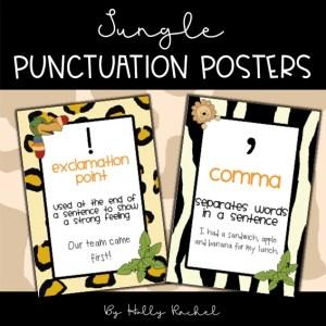 punctuation classroom display