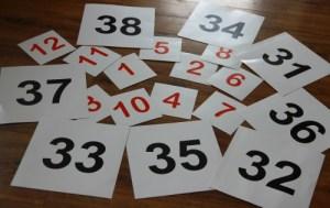 Matematyka z małym dzieckiem metodą Domana