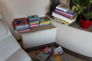 Książki w zasięgu ręki dziecka