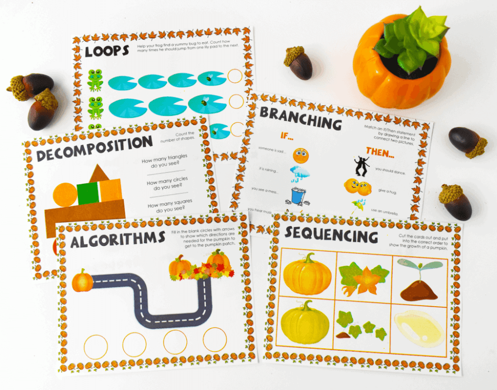 medium resolution of Themed Coding Worksheets for Kindergarten and Primary Students - Teach Your  Kids Code