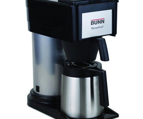 Bunn bt velocity brew 10 cup thermal carafe home coffee for Bunn phase brew 8 cup coffee brewer