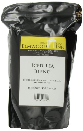 Elmwood Inn Fine Teas, Iced Tea Nilgiri Blend, 16-Ounce Pouch