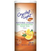 Crystal Light Iced Tea Mix Decaffeinated Lemon – 12 Pack
