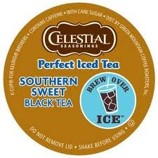 Celestial Seasonings Perfect Southern Sweet Iced Tea * 2 Boxes of 22 K-Cups *