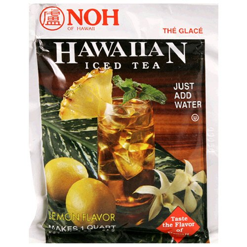 Noh Hawaiian Iced Tea Mix, 3-Ounce Unit (Pack of 10)