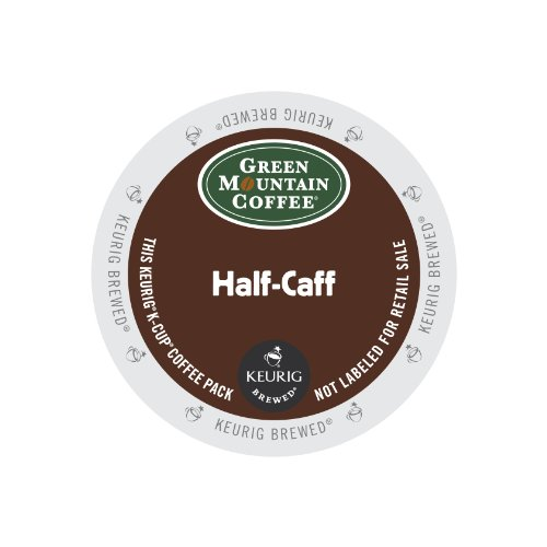 Keurig, Green Mountain Coffee, Half-Caff, K-Cup packs, 72 Count