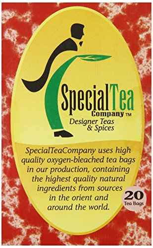 Special Tea Rooibos Tea Bags, Pumpkin Cream, 1.41 Ounce