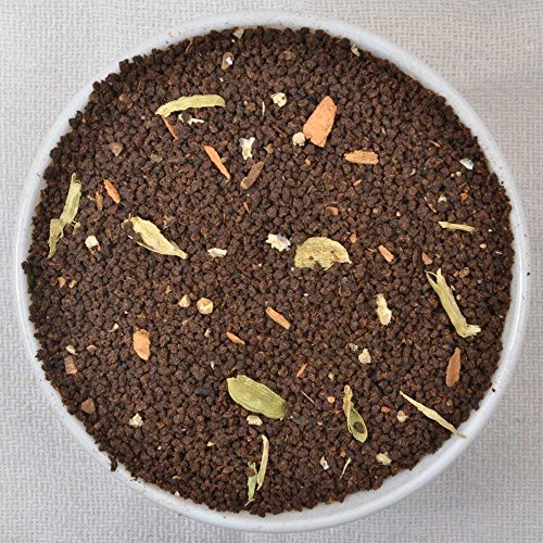 India's Original Masala Chai, Spiced Black Tea, Assam CTC blended with fresh Indian Spices, 3.53oz/100g (Makes 35-40 Cups)