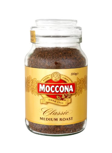 Moccona Freeze Dried Instance Coffee 200g (Classic (Medium Roast))