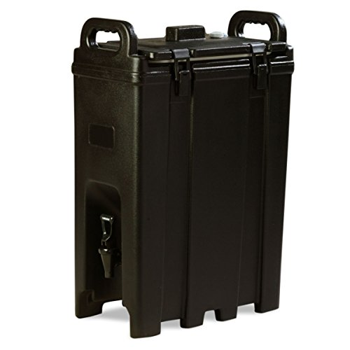 Carlisle LD500N03 Cateraide Polyethylene Insulated Beverage Server, 5 gal. Capacity, 16-3/8″ L x 9″ W x 24.20″ H, Black